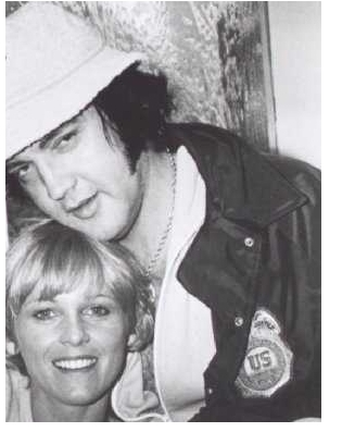 Elvis DEA jacket in Hawaii in March 1977