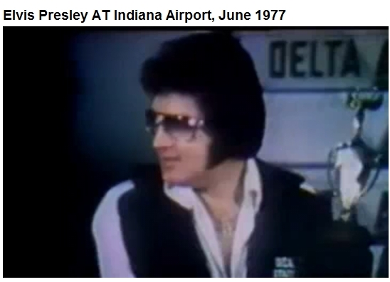Elvis Indianapolis June 26, 1977 wearing DEA jogging suit