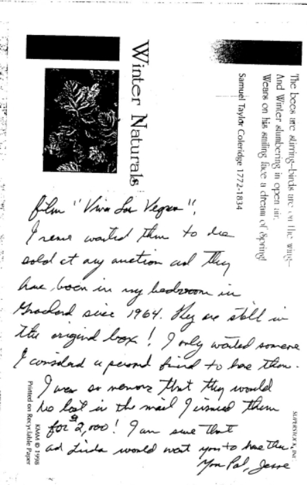 Jesse's letter about cuff links page 2 cropped
