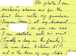 Jesse's letter from the page of his letters to me from my site 2