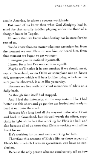 Next to last page of Gene Smith's book