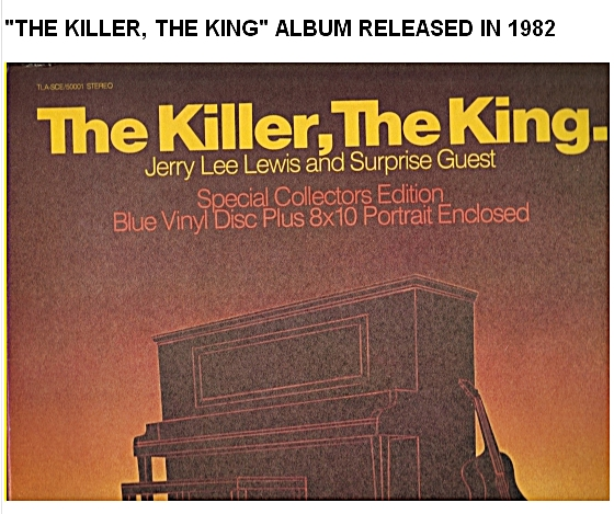 The Killler, The King front album cover