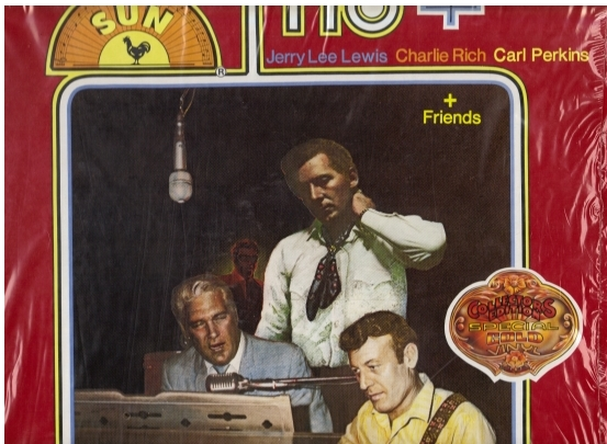 Trio Orion album front cover showing stranger's silhouette in background