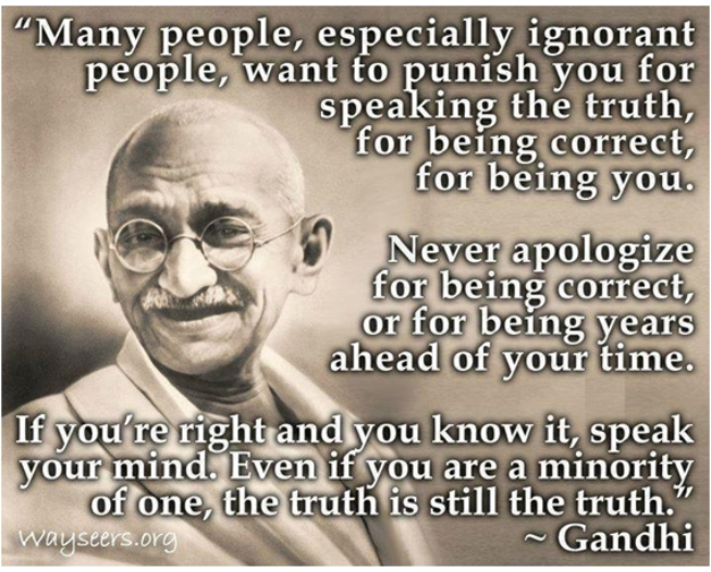 ghandi quotes on truth