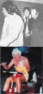 Elvis in July 1974 and Jesse in 1994