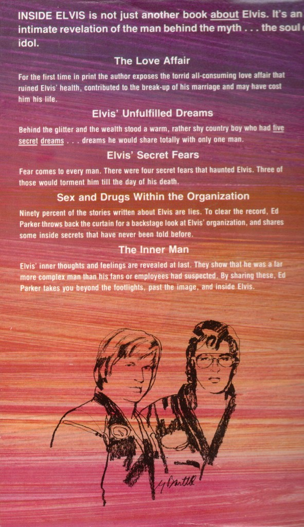 Ed Parker's book back cover