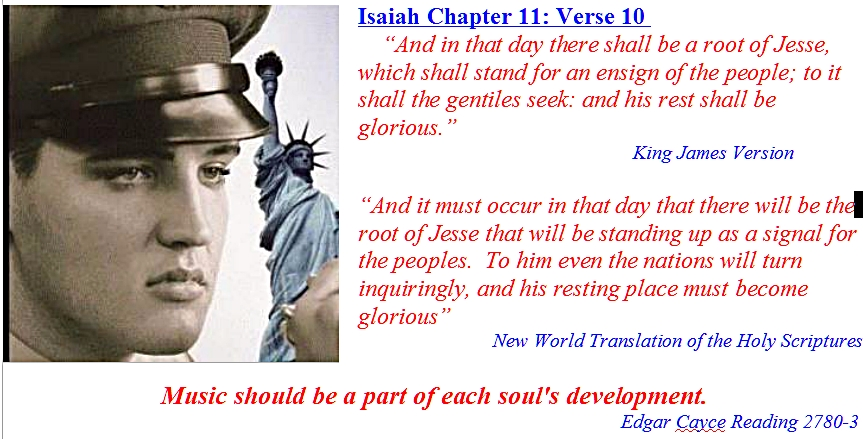 My letterhead to Jesse Isaiah Chapter 11 verse 10