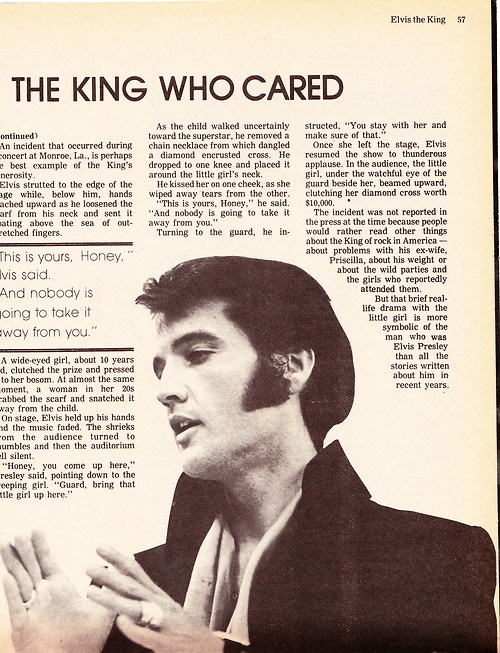 The King Who Cared