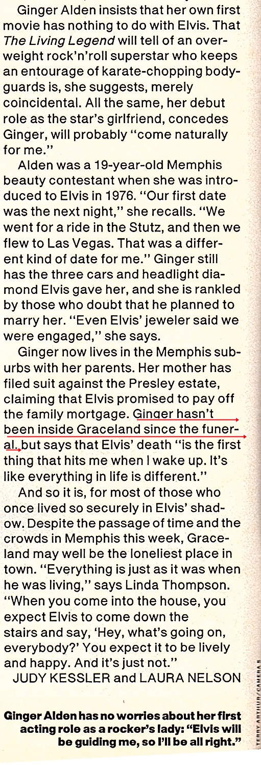 Below is the excerpt from this magazine article. You will note that I
