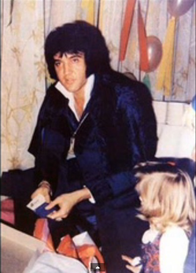 Elvis and Lisa rare photo