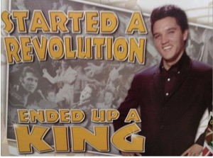 Started a Revolution, ended up a king.