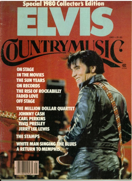 1980 Country Music Magazine Elvis Special Collector's Edition