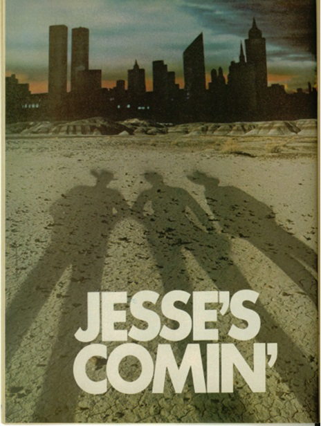 Jesse's Comin' page from 1980 Country Music Magazine Elvis Special Edition