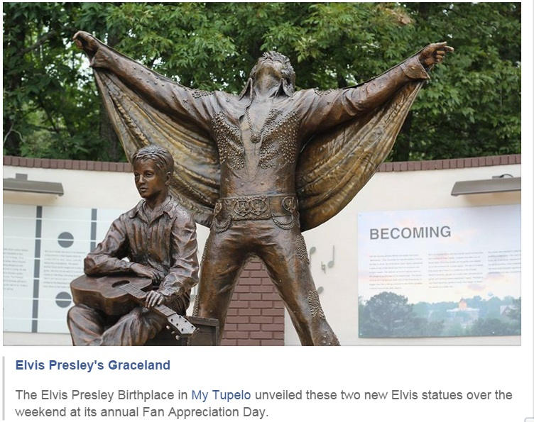 Tupelo new statues 2015 a different view