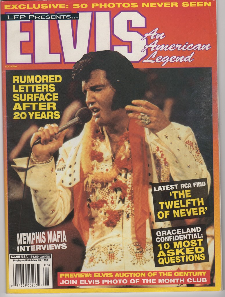 Cover of Magazine with Elvis 1976 notes article20160302