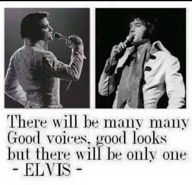 Only one Elvis